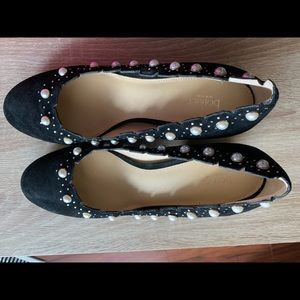 Botkier shoes size 8.5 with pearl decorations